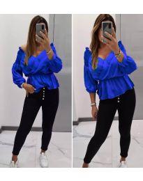 Bluza - kod 7771 - plava