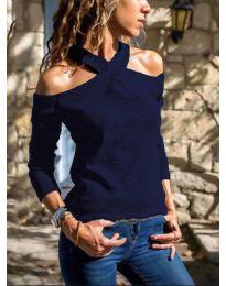 Bluza - kod 4616 - tamno plava