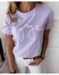 Majica - kod 3350 - ljubičasta
