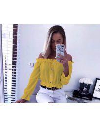 Košulja - kod 7126 - žuta