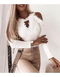 Bluza - kod 4268 - bijela