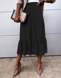 Suknja - kod 3463 - crna