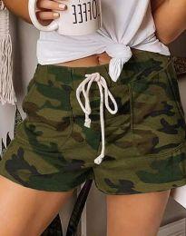 Kratke hlače - kod 0251 - 1 - kamuflazna boja
