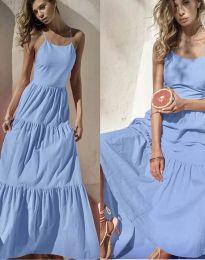 Haljina - kod 2991 - svijetlo plava
