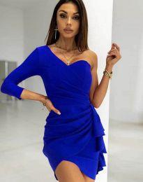 Haljina - kod 5543 - plava