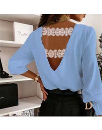 Bluza - kod 5155 svijetlo plava