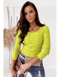 Bluza - kod 8365 - žuta