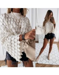 Džemper - kod 8092 - bijela