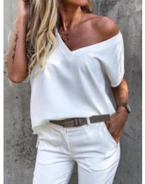 Majica - kod 0589 - bijela