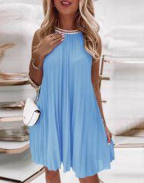 Haljina - kod 0889 - svijetlo plava