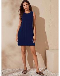 Haljina - kod 3075 - tamno plava