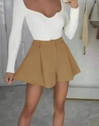 Kratke hlače - kod 1455 - kapućino