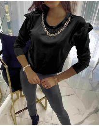 Bluza - kod 6189 - crna