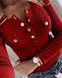 Bluza - kod 11516 - 4 - crvena