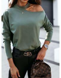 Bluza - kod 41511 - maslinasto zelena
