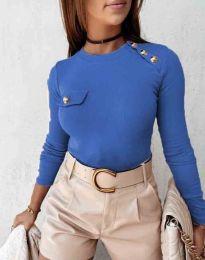 Bluza - kod 2151 - 4 - plava