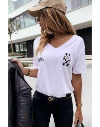 Majica - kod 3021 - 1 - bijela