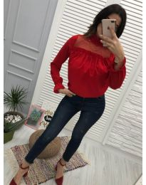 Bluza - kod 0626 - 6 - crvena