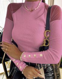 Bluza - kod 2771 - svijetlo ružičasta