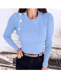 Bluza - kod 9989 - svijetlo plava
