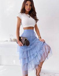 Suknja - kod 11730 - svijetlo plava