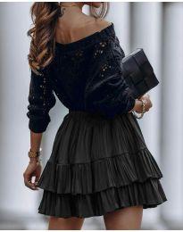 Suknja - kod 4122 - crna