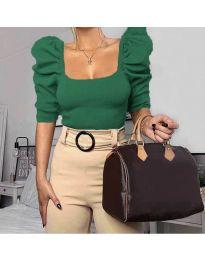 Bluza - kod 9867 - zelena