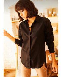 Košulja - kod 10508 - 2 - crna