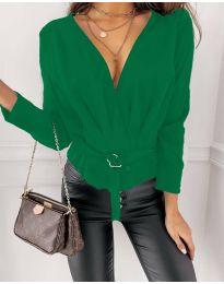 Bluza - kod 5525 - zelena