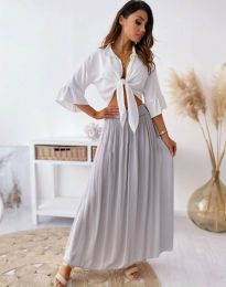 Suknja - kod 2667 - tamno siva