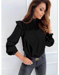 Bluza - kod 6202 - crna
