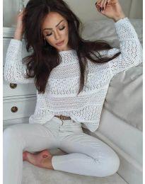 Bluza - kod 2538 - bijela