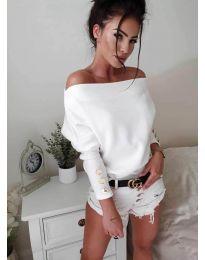 Bluza - kod 3732 - bijela