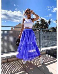 Suknja - kod 0008 - plava