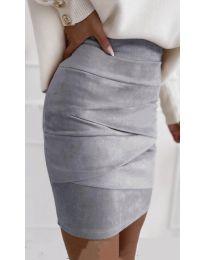 Suknja - kod 7451 - siva