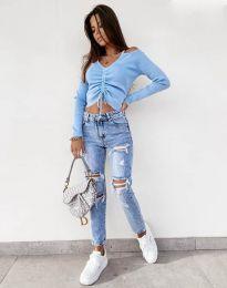Bluza - kod 0936 - svijetlo plava
