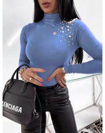 Polo bluza - kod 2552 - svijetlo plava