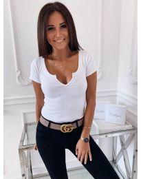 Majica - kod 3629 - bijela