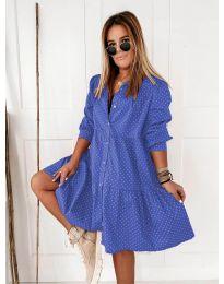 Haljina - kod 5557 - plava