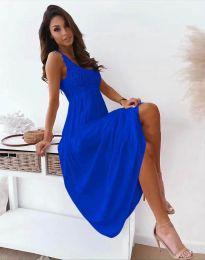 Haljina - kod 4807 - tamno plava