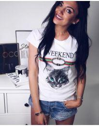 Majica - kod 132 - bijela