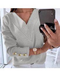 Bluza - kod 0990 - siva