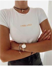Majica - kod 961 - bijela