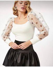 Bluza - kod 11320 - 2 - bijela
