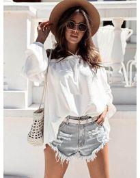 Ženska bluza u bijeloj boji - kod 6561