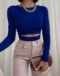 Bluza - kod 1833 - 5 - tamno plava