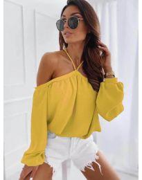 Bluza - kod 6561 - žuta