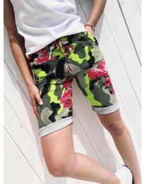 Kratke hlače - kod 5077-1 - šarena