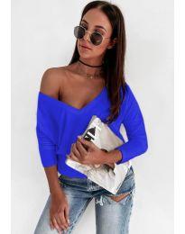 Bluza - kod 3478 - plava