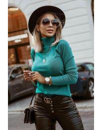 Bluza - kod 8861 - zelena